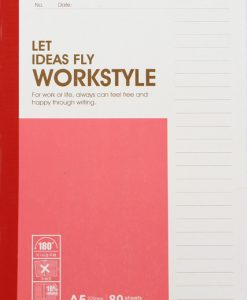 A5 Workstyle Pad 80 Page
