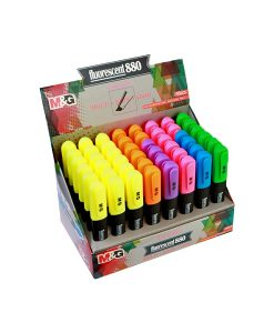 Fluorescent 880 highlighter AHM24971 Retail display box