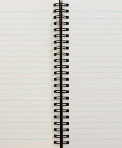 Spiral Notebook Inside