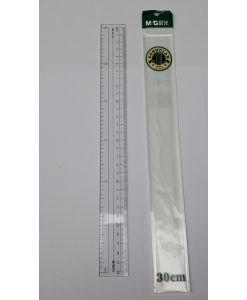ARL96126 300mm Plastic Ruler