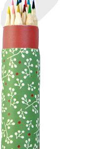 AWP36803 tube of 12 coloured pencils open