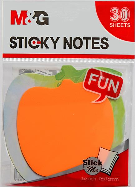 YS-94 - Transparent Sticky Shapes - Fruit LR