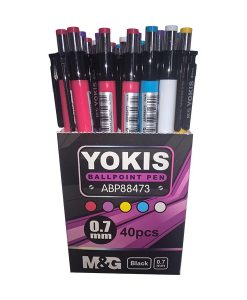 Yokis retractable ball pen ABP88473 Shelf Box