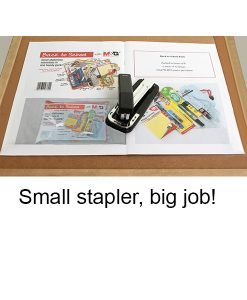 Small stapler - big job